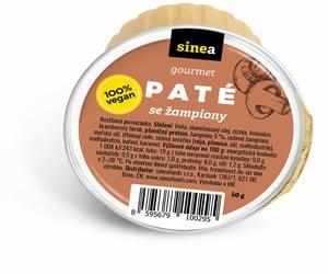 Sinea pomazánka Gourmet Paté s žampiony