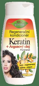 Bione cosmetics BIO Arganový olej + Karité regenerační kondicionér