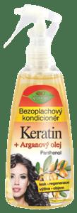 Bione cosmetics BIO Arganový olej + Karité bezoplachový kondicionér
