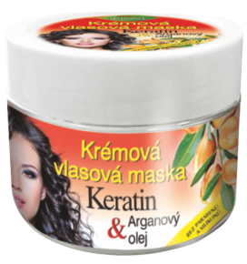 Bione cosmetics BIO Arganový olej + Karité krémová vlasová maska
