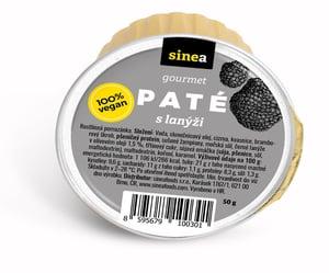 Sinea pomazánka Gourmet Paté s lanýži