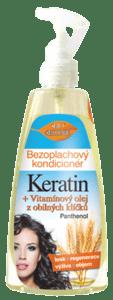 Bione cosmetics BIO Keratin + Obilné klíčky bezoplachový kondicionér