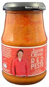 Jamie Oliver Červené pesto se sušenými rajčaty