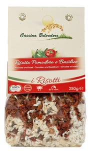 Cascina Belvedere Rizoto se sušenými rajčaty a bazalkou