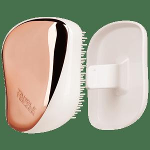 Tangle Teezer Hřeben Compacts Cream růžovo-zlatý