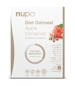 NUPO dieta Kaše Jablko se skořicí