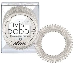 Invisibobble Gumičky Slim Crystal průhledné
