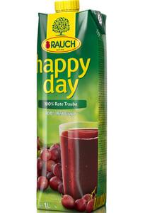 Happy Day 100% džus z červeného hrozna