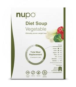 NUPO dieta Zeleninová polévka