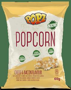 Popz Popcorn sýr, slanina