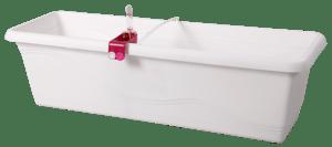 Truhlík samozavlažovací EXTRA LINE SMART bílý