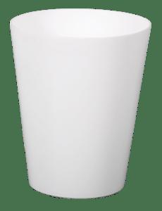 Obal na květník CLIVO ORCHIDEA bílý