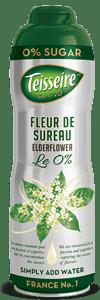 Teisseire Sirup bezový květ bez cukru