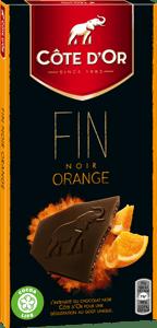 Côte d´Or  hořká čokoláda s pomerančem