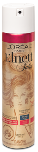 L'Oréal Paris Elnett Satin Lak na vlasy silná fixace pro barvené vlasy