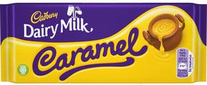 Cadbury mléčná čokoláda s karamelem