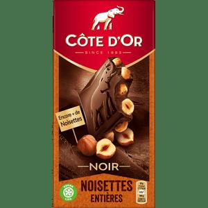 Côte d´Or hořká čokoláda s celými lískovými oříšky