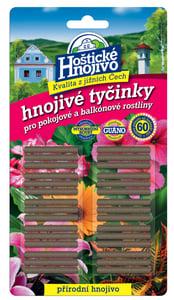 Hoštické hnojivo Hnojivé tyčinky pro pokojové a balkónové rostliny