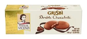 Vicenzi Grisbi Kakaové sušenky plněné čokoládovým krémem