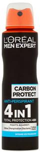 L'Oréal Paris Men Expert Carbon Protect sprej antiperspirant