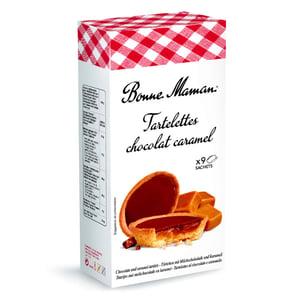 Bonne Maman Tartelettes čokoládové sušenky s karamelem
