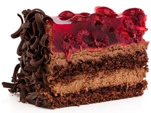 Ollies Čokomalinový dortík