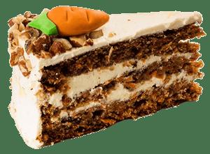 Ollies Carrot Cake dortík