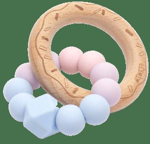 Mimijo Silikonové kousátko Něha donut