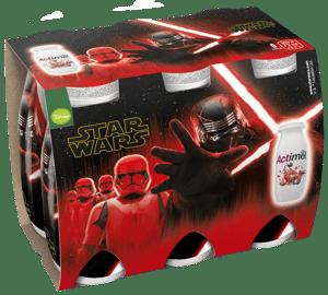 Danone Actimel Star Wars granátové jablko/borůvka/marakuja 6×100 ml
