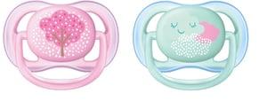 Philips AVENT Šidítko Ultra air Deco 0-6 měsíců dívčí