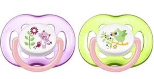 Philips AVENT Šidítko Sensitive 18+ měsíců dívčí