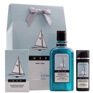 Manufaktura Dárkový balíček pánské kosmetiky Men & Sail