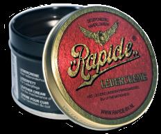 Rapide Leathercream-grease hnědý Balzám na kožené oblečení a výrobky