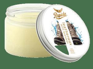 Rapide Leatherwax Bezbarvý balzám na kožené výrobky s obsahem včelího vosku