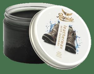 Rapide Leatherwax Černý balzám na kožené výrobky s obsahem včelího vosku