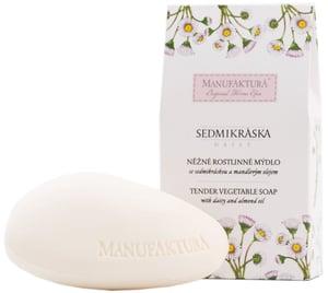 Manufaktura Něžné rostlinné mýdlo se Sedmikráskou