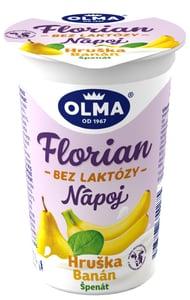Olma Florian nápoj bez laktózy hruška-banán-špenát