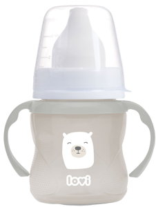 LOVI Hrníček tréninkový BUDDY BEAR 150 ml