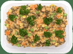 Yara Indický čočkový salát