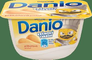 Danone Danio krémový tvaroh piškotová příchuť