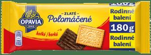 Opavia Zlaté Polomáčené sušenky hořké