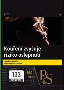 P&S Black - cigaretový tabák