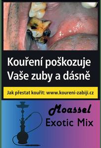 Moassel Exotic Mix - Ovocný mix