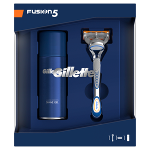 Gillette Fusion5 Holicí Strojek + Sensitive Gel na holení
