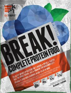 Extrifit Protein Break! Borůvka