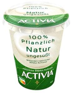 Danone Activia rostlinná alternativa bílého jogurtu sprobiotiky