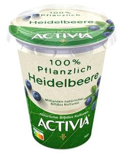 Danone Activia rostlinná alternativa borůvkového jogurtu s probiotiky