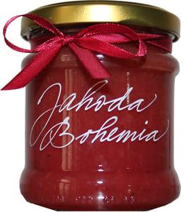 Marmelády s příběhem Jahoda-Bohemia Brut extra džem výběrový speciální