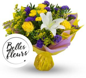Belles Fleurs Kytice fialová