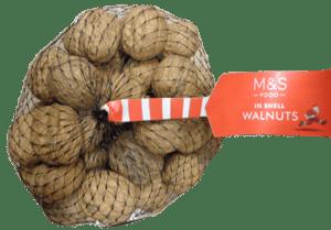 Marks & Spencer Vlašské ořechy ve skořápce